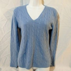Lord & Taylor CASHMERE Top Sweater S/P